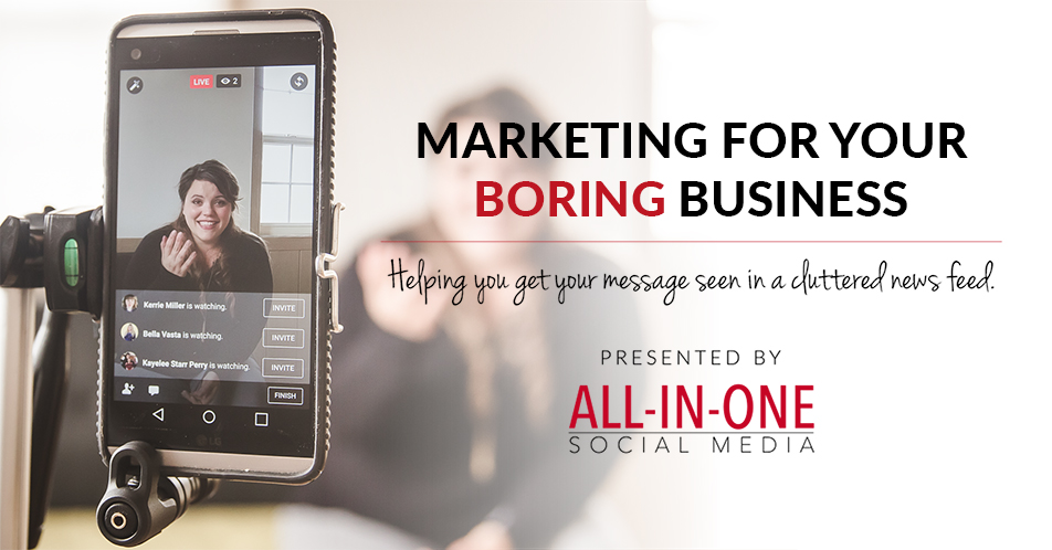 Podcast 001 - Welcome To Marketing For Your Boring Business