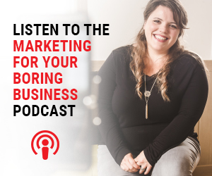 Listen to Marketing For Boring Business podcast image