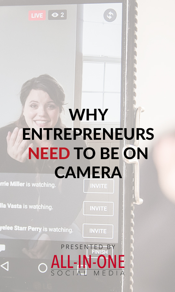 Marketing for your boring business podcast - Why entrepreneurs need to be on camera