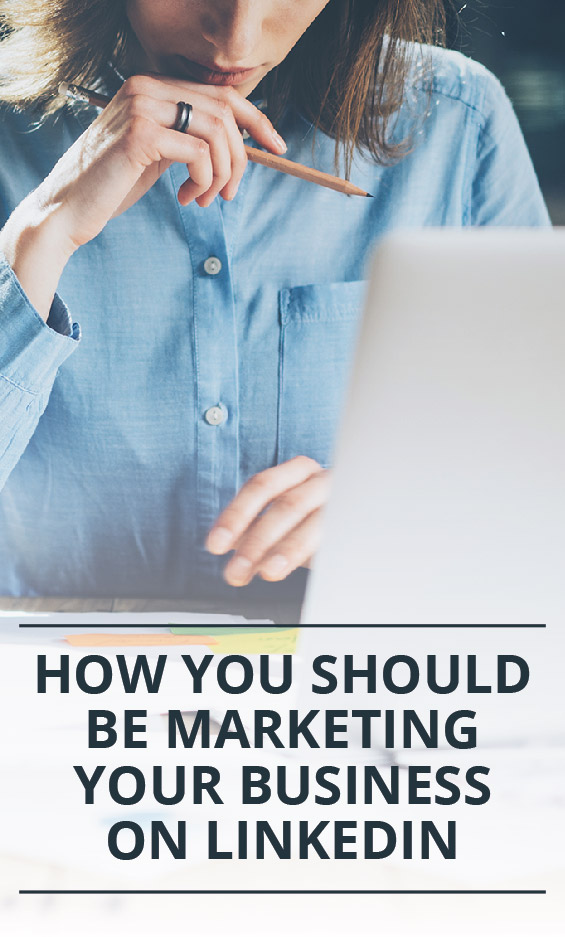 Podcast How You Should Be Marketing Your Business On LinkedIn - Marketing For Your Boring Business