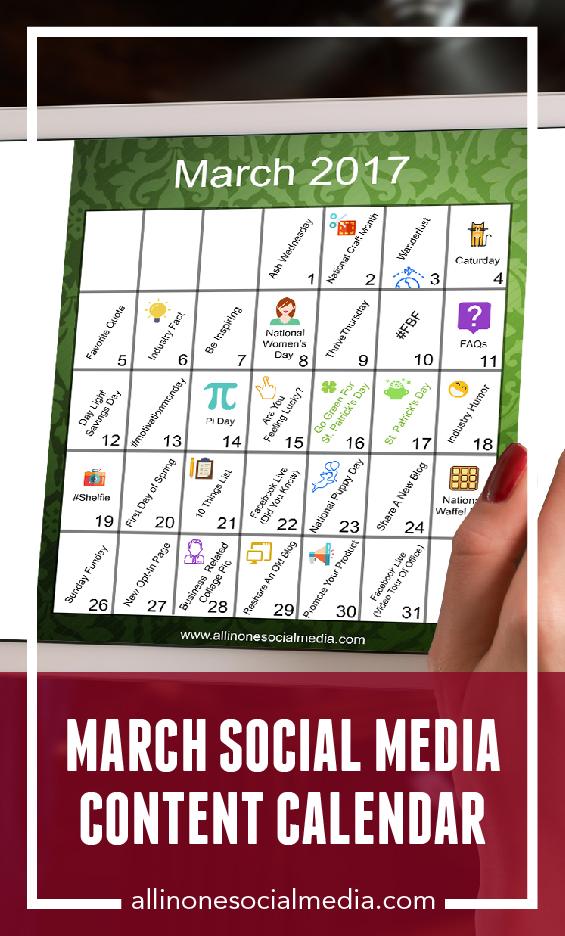 [FREEBIE] February Social Media Content Calendar