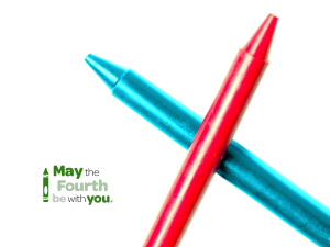 Star Wars Day Content Marketing crayola