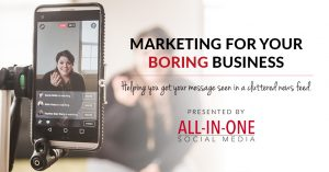 Marketing for your boring business podcast