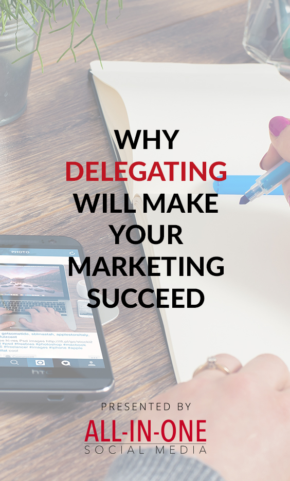 Podcast Why delegating will make your marketing succeed
