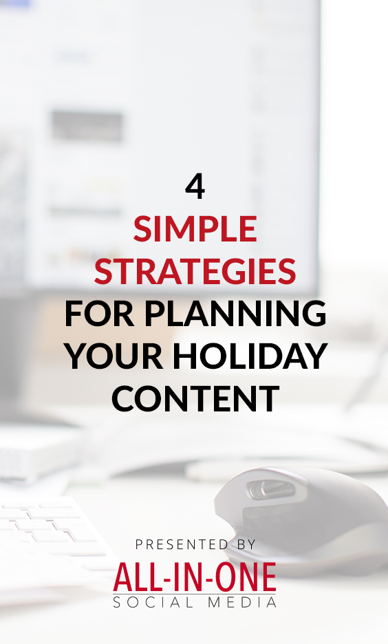 4 Simple Strategies For Planning Your Holiday Content podcast