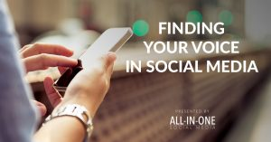 Podcast 016 – Finding Your Voice In Social Media