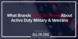 Podcast - What Brands Need To Know About Active Duty Military & Veterans