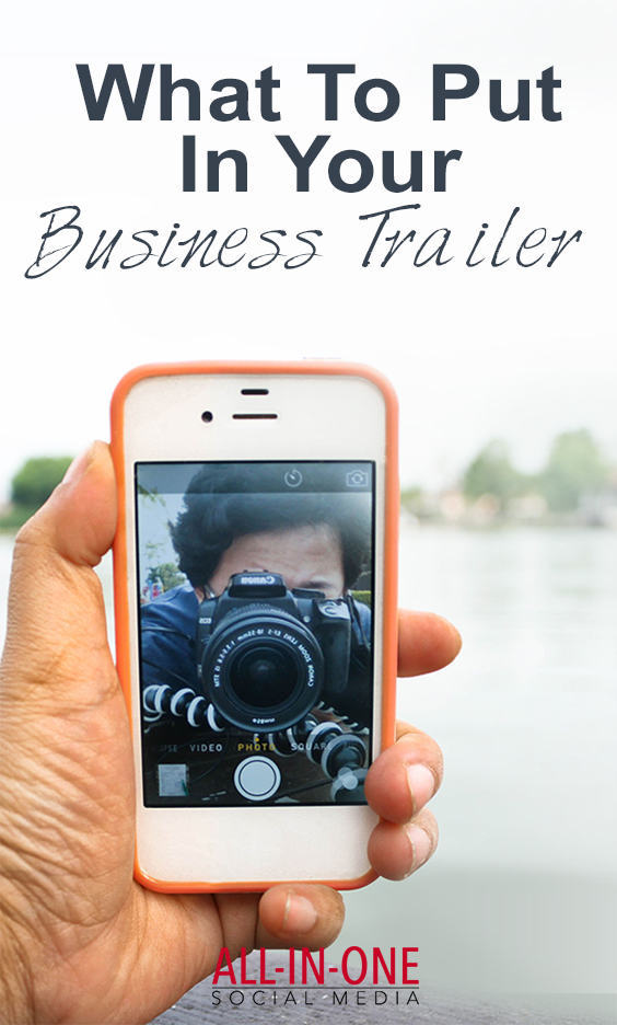 podcast - What to put in your business trailer