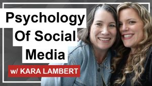 The world of social media can seem like a mine field but did you know there is real psychology behind what makes people tick and engage with your content. Today we talk with Kara Lambert about the psychology of social media and how to use it to grow your business.