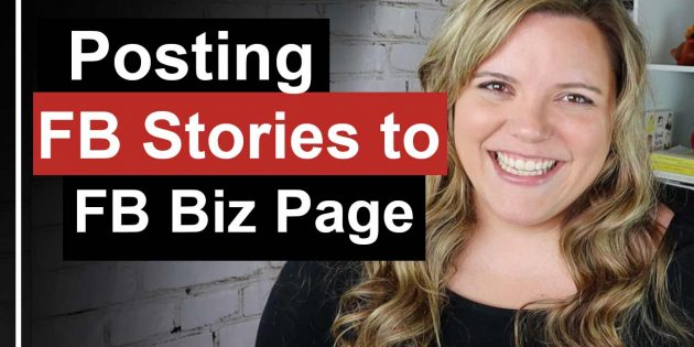 How To Post Stories on Facebook Business Page // Facebook Stories is a great way to engage people and update them about what you are doing in your business.