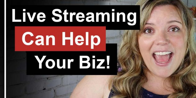 Grow Your Business With Live Streaming // Live streaming has so many added benefits to your business and you you need to do is click the go live button.